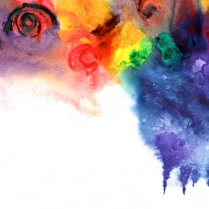 Abstract colorful watercolors,paint high-resolution