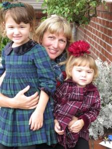 Heidi and the girls 2015