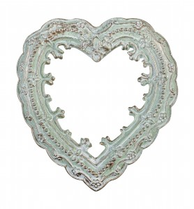 Heart shaped frame